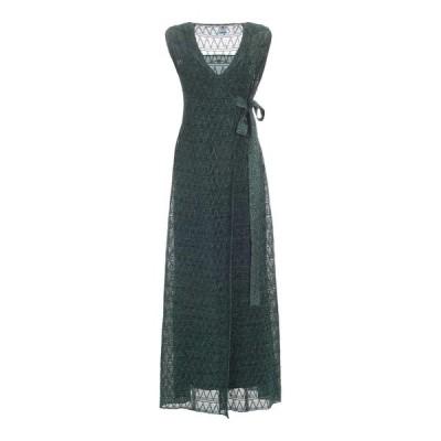 エム ミッソーニ レディース ワンピース トップス M Missoni Glitter Embroidered Maxi Dress -