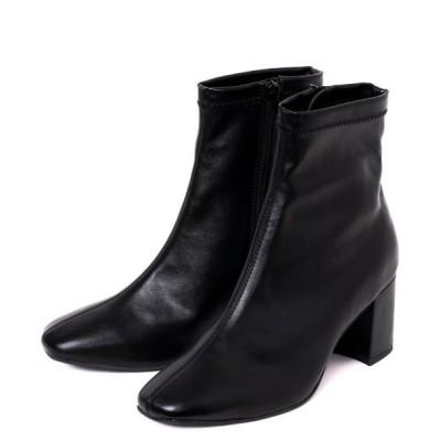 R&E / 【20AW新作】【REZOY】スクエアショートブーツ WOMEN シューズ > ブーツ