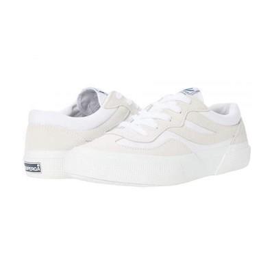 Superga スペルガ レディース 女性用 シューズ 靴 スニーカー 運動靴 2941 Revolley Suecotu Sneaker - White Multi