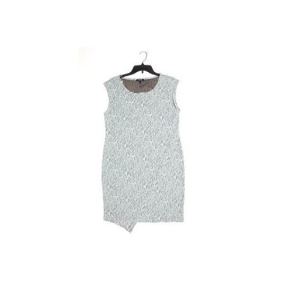 海外セレクション ドレス ワンピース フォーマル KIIND OF レディース ドレス Sheath L ライト グレー マルチ Polyester Regular LAFO