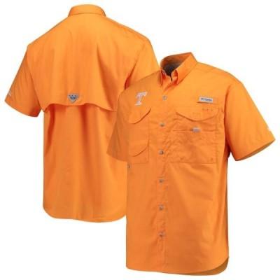 ユニセックス スポーツリーグ アメリカ大学スポーツ Tennessee Volunteers Columbia PFG Bonehead Short Sleeve Shirt - Tennessee Ora