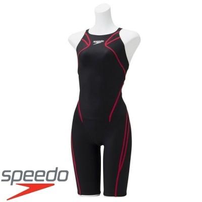 ◆◆□送料無料 メール便発送 <スピード> Speedo ATLASK NEE SKIN SCG11906F (KR:ブラック×レッド) 競泳水着