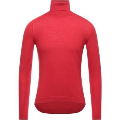 ヨーン YOON メンズ ニット・セーター タートルネック トップス turtleneck Red