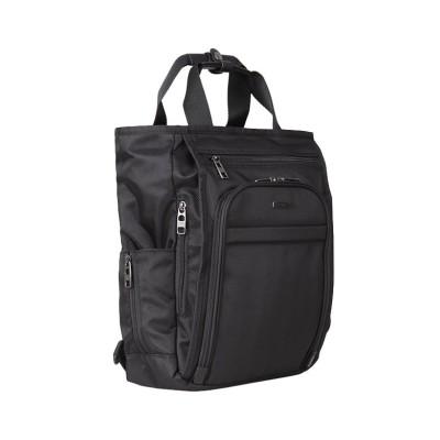 【カバンのセレクション】 バーマス ビジネスバッグ ビジネスリュック トートバッグ 2WAY 2層 クラッチバッグ付き A4 BERMAS 60443 ユニセックス ブラック フリー Bag&Luggage SELECTION