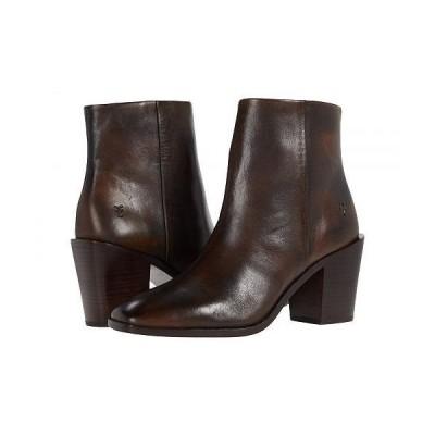 Frye フライ レディース 女性用 シューズ 靴 ブーツ アンクル ショートブーツ Georgia Bootie - Bronze Brush-Off Veg Tan