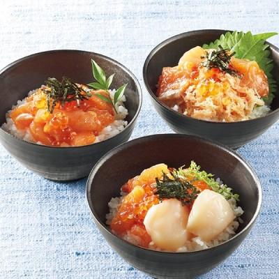 鮭いくら親子丼3種詰合せ 魚(切身・干物など)