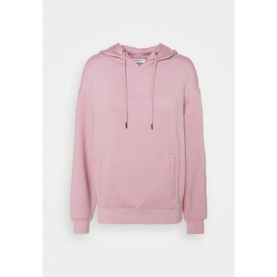モス コペンハーゲン パーカー・スウェットシャツ レディース アウター IMA LOGO HOOD - Sweatshirt - pink