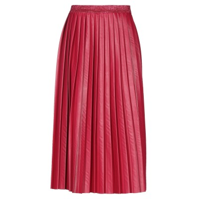 ピンク メモリーズ PINK MEMORIES 7分丈スカート フューシャ 40 ポリエステル 87% / ポリウレタン 13% 7分丈スカート