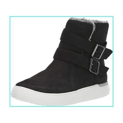 【新品】Cobb Hill Elysse Buckle Boot Black 6 D - Wide(並行輸入品)