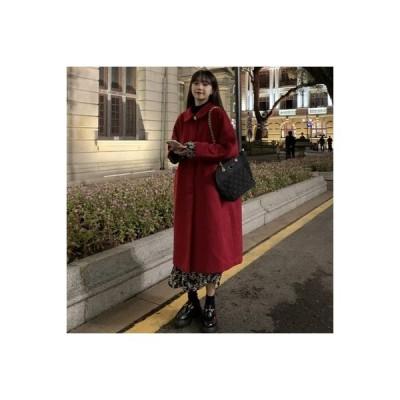 【送料無料】秋と冬 クリスマス 手厚い 手厚い ウールのコート 女 年 西洋風 品質 | 364331_A64527-1733925