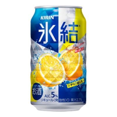 お酒 チューハイ キリン 氷結 シチリア産レモン350mlケース(24本入り)