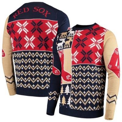 """メンズ セーター """"Boston Red Sox"""" Retro Sweater - Navy"""