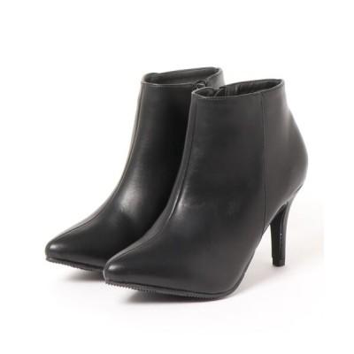 Mafmof / ElvisLuce(エルビスルーチェ) ポインテッドトゥピンヒール ショートブーツ WOMEN シューズ > ブーツ