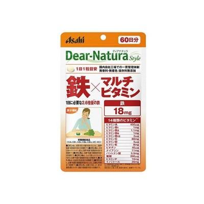 ディアナチュラ スタイル 鉄×マルチビタミン 60日分 アサヒグループ食品