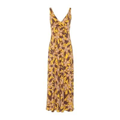 SIYU ロングワンピース&ドレス イエロー 38 ナイロン 72% / ポリウレタン 28% ロングワンピース&ドレス