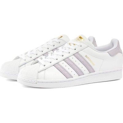 アディダス Adidas Womens レディース スニーカー シューズ・靴 adidas superstar w White/Black