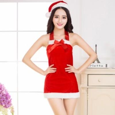サンタクロース お祝い セット サンタ服装 演出服 コスチューム 大人 女性用 セクシー