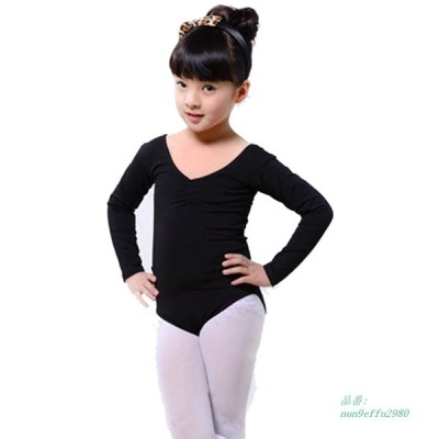 子供長袖バレエガールズダンスドレス体操スケート摩耗レオタード衣装 グループ上 ノベルティ 特殊用途 から バレエ 中