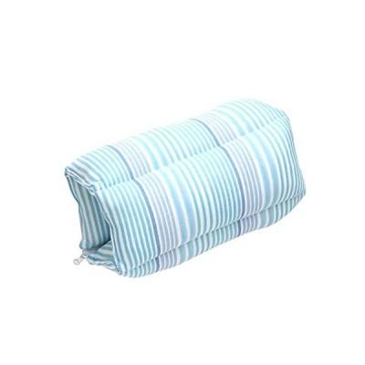 センバドー フレスコ冷感 3wayクッション ボーダー サイズ:約35×48×9cm