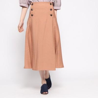 スタイルブロック STYLEBLOCK ファイユプリーツスカート (ピンク)