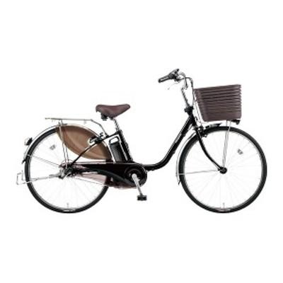 PANASONIC BE-ELD436-B ピュアブラック ビビ・DX [電動アシスト自転車(24インチ・内装3段)]