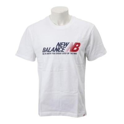 【New Balanceウェア】 ニューバランスウェア M ESSステップT AMT91590WT WT(ホワイト) L