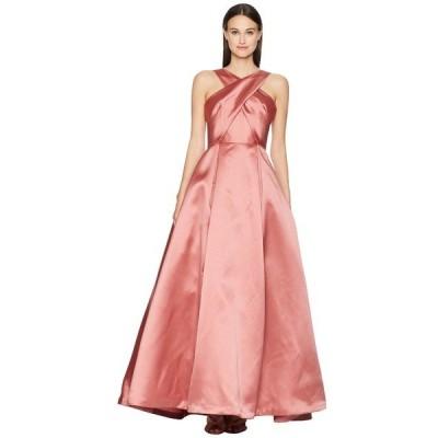 MLモニックルイラー ワンピース トップス レディース Cross Front Satin Gown Blush Pink