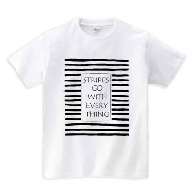 【ストライプ・ボーダー】メンズ 半袖 Tシャツ