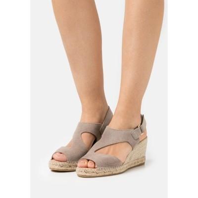 カンナ サンダル レディース シューズ ANIA - Platform sandals - grau