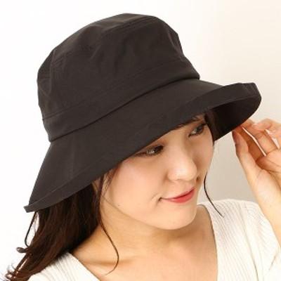 フルラ(ネックウェア・帽子)(FURLA)/【手洗い・UV遮蔽率99.9%以上・サイズ調整OK】綿混タフタ エッジアップセーラーハット