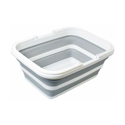 ファイン 桶 キッチン 清掃 たためる 洗い桶 8.5L 省スペース FIN-706
