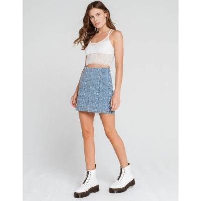 フリーピープル FREE PEOPLE レディース ミニスカート デニム スカート Modern Femme Denim Mini Skirt INDIGO