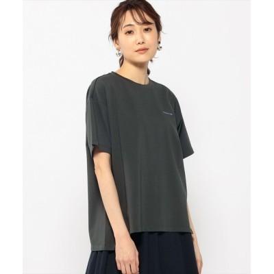 CROSSPLUS ONLINE / バックプリントTシャツ WOMEN トップス > Tシャツ/カットソー