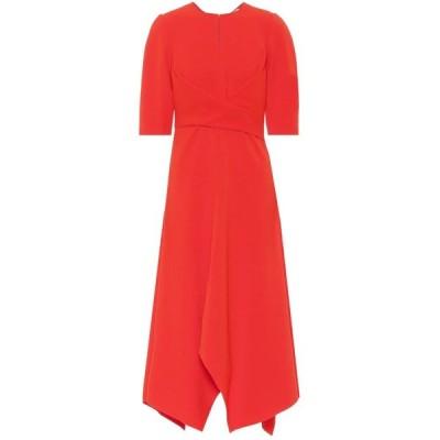 ドロシー シューマッハ Dorothee Schumacher レディース ワンピース ミドル丈 ワンピース・ドレス Sophisticated Perfection midi dress Japanese Red