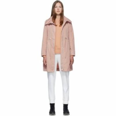 モンクレール Moncler レディース コート アウター Pink Malachite Coat Blush