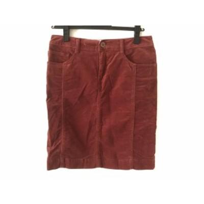 ニジュウサンク 23区 スカート サイズ36 S レディース レッド denim【中古】