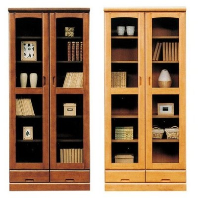 書棚 チェスト 幅80cm 奥行40cm 高さ180cm 国産 完成品 収納 開梱設置無料 代引不可
