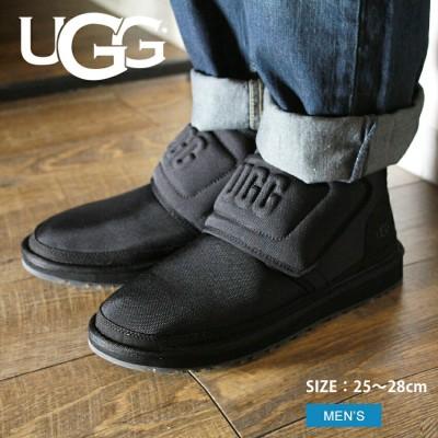 UGG アグ シューズ NEUMEL UGG MOLDED LOGO 1110810 メンズ 靴 ブーツ ベルクロ ロゴ