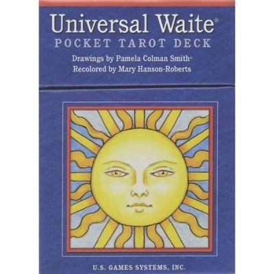 US Games Systems 正規販売店 ユニバーサル ウェイト ポケット タロット Universal Waite Pocket Tarot Deck [カード] タロットカード タロット 占い