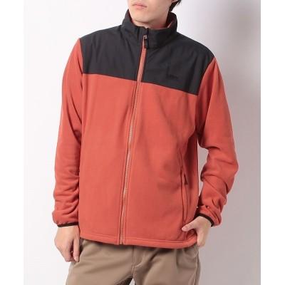 (Alpine DESIGN/アルパインデザイン)アルパインデザイン/メンズ/フリースジャケット/メンズ ダークオレンジ/ブラック