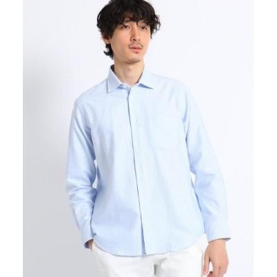 【タケオキクチ】 ドビードット刺し子シャツ メンズ ライト ブルー 04(LL) TAKEO KIKUCHI