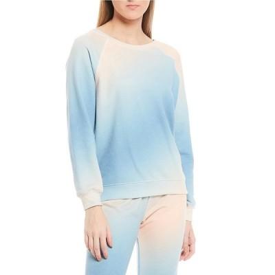 ワイルドフォックス レディース カットソー トップス Sommers French Terry Tie-Dye Pullover Sweatshirt Tie Dye