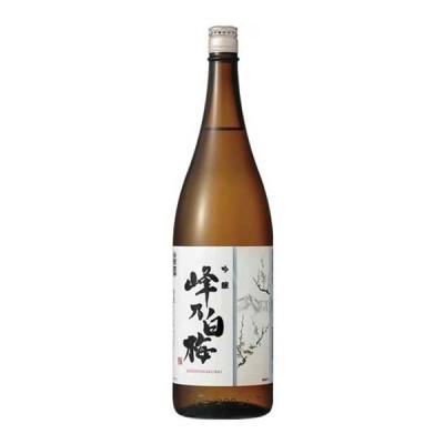 峰乃白梅 吟醸 1.8L 1800ml x 6本[ケース販売][OKN/峰乃白梅酒造/新潟県]