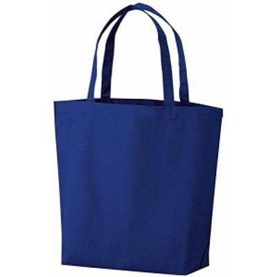 トートバッグ 手提げ袋 厚手コットン Lサイズ 紺