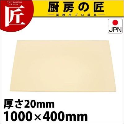 まな板 業務用 プラスチック アルファ 抗菌 α6 20mm (運賃別途) (N)