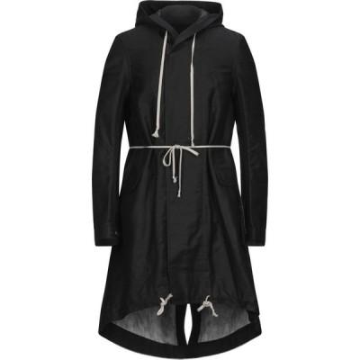 ダークシャドウ DRKSHDW by RICK OWENS メンズ コート アウター coat Black