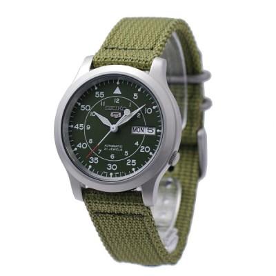 セイコー SEIKO 5 腕時計 海外モデル 自動巻き ミリタリー カーキ SNK805K2 メンズ [逆輸入品]