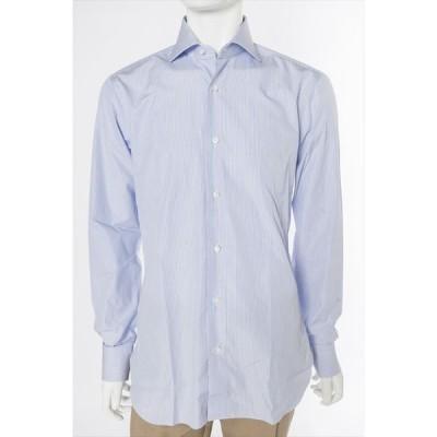 バルバ BARBA シャツ 長袖 メンズ 480014U ライトブルー 目玉商品