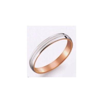 (29) M371 True Love トゥルーラブ パイロット  お得な特別割引価格 Pt900 プラチナ & K18PG  ピンクゴールド マリッジリング 結婚指輪 ペアリング (1本)
