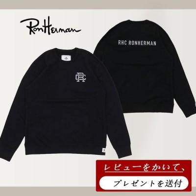【レビューを書いてプレゼント無料進呈】ロンハーマン Ron Herman x レイニングチャンプ REIGNING CHAMP Crew Neck Sweat Shirt スウェット パーカー